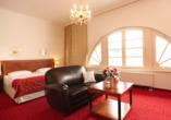 Hotel Prinzenpalais in Bad Doberan an der Ostsee, Beispiel Doppelzimmer