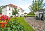 Hotel Prinzenpalais in Bad Doberan an der Ostsee, Aussenansicht