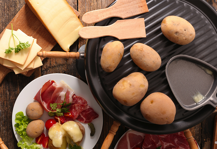 Wie wäre es mit leckerem Raclette?