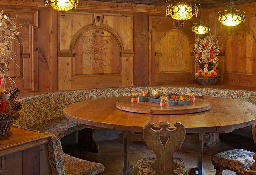 Restaurant im Hotel Walliserhof in Täsch