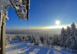 SOIBELMANNS Hotel Alexandersbad, Winter im Fichtelgebirge
