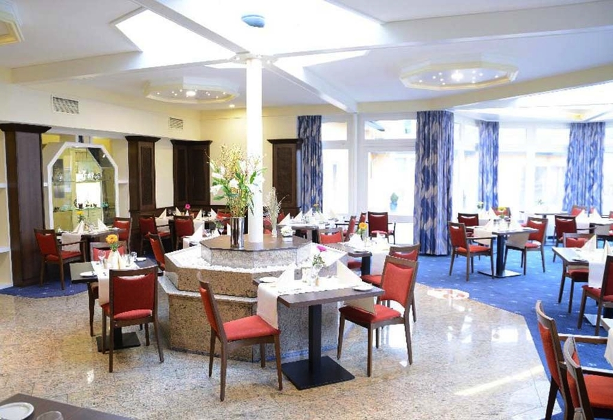 AVALON Hotelpark Königshof in Königslutter, Restaurantbereich