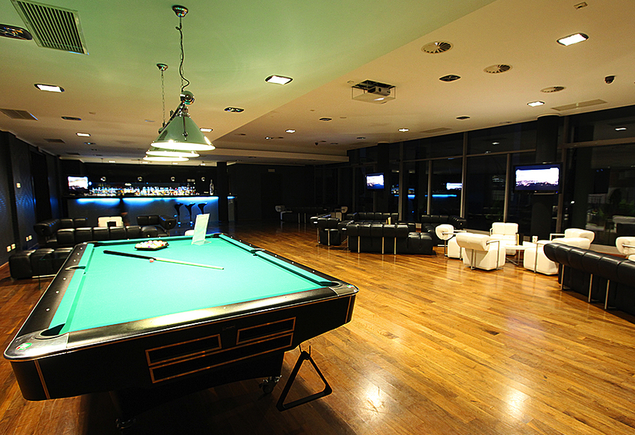 HAVET Hotel Resort & Spa, Dwirzyno, Kolberger Deep, Polnische Ostsee, Billard