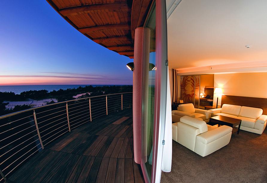 HAVET Hotel Resort & Spa, Dwirzyno, Kolberger Deep, Polnische Ostsee, Ausblick