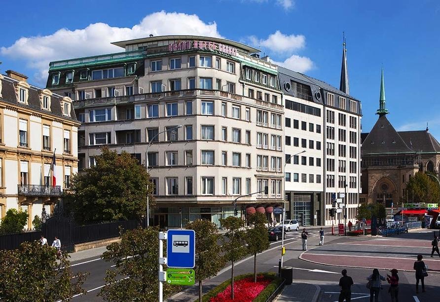 Grand Hotel Cravat in Luxemburg, Hotelansicht