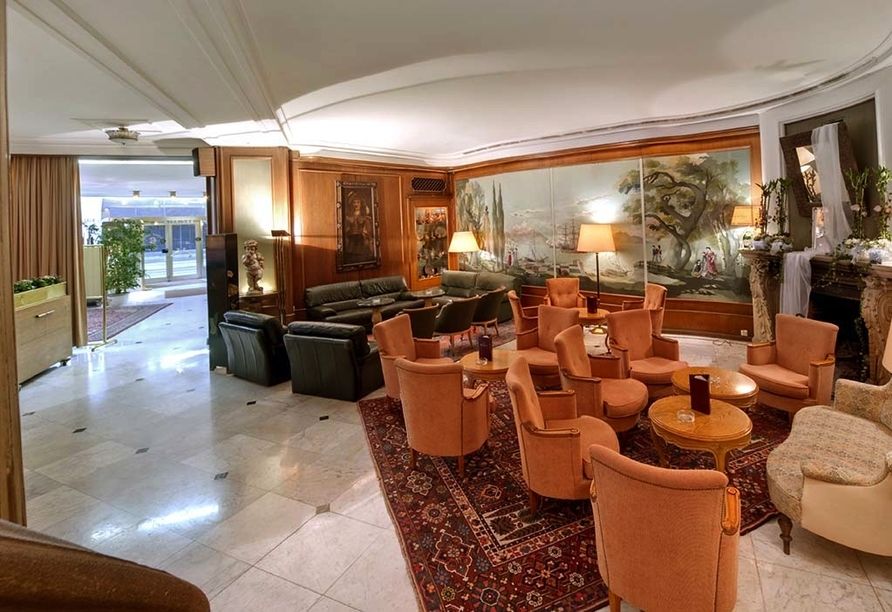 Grand Hotel Cravat in Luxemburg, Lobby