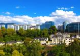 Grand Hotel Cravat in Luxemburg, Skyline