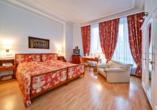 Grand Hotel Cravat in Luxemburg, Zimmerbeispiel Deluxe
