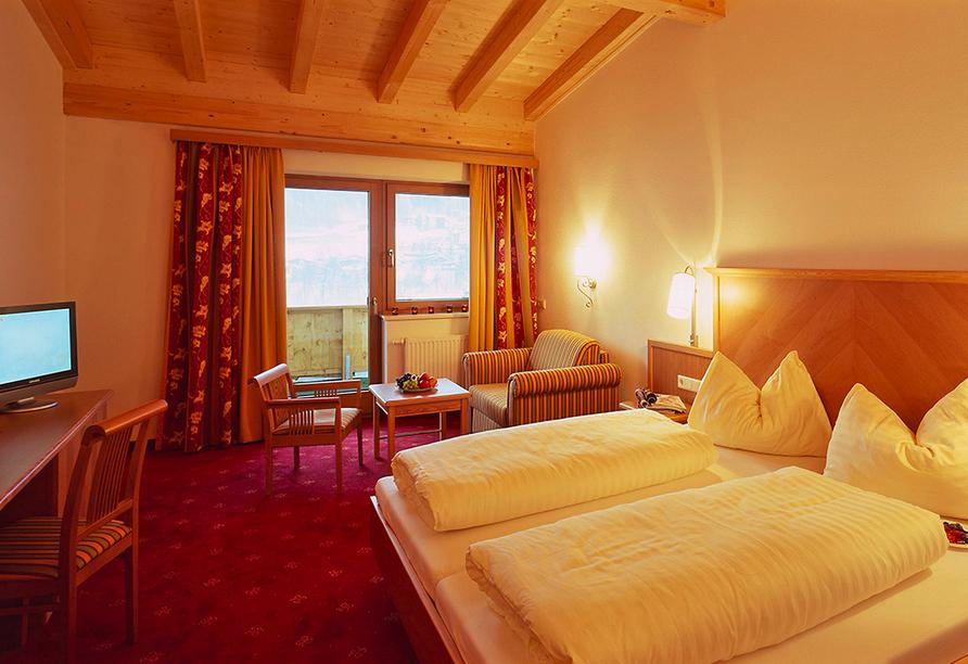 Alpenhotel Ramsauerhof, Zimmer