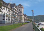 Hotel Rheinlust, Boppard, Außenansicht, Rheinpromenade