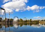 Heide Park Resort Soltau, Parkblick