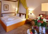 Quellness- und Golfhotel Fürstenhof in Bad Griesbach im Bayerischen Bäderdreieck, Beispiel Doppezimmer