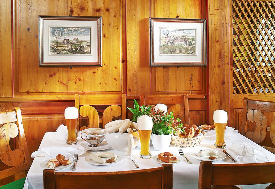 Quellness- und Golfhotel Fürstenhof in Bad Griesbach im Bayerischen Bäderdreieck, Restaurant