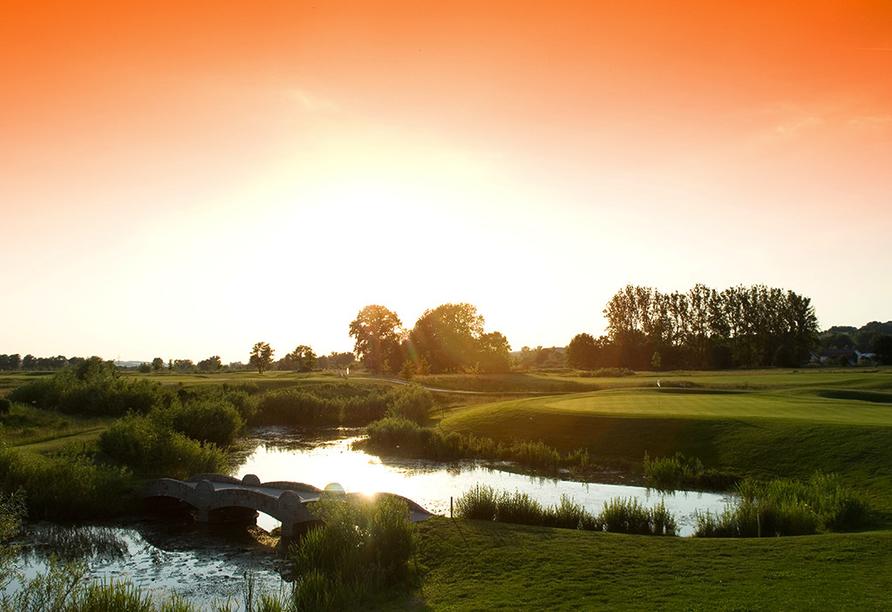 Quellness- und Golfhotel Fürstenhof in Bad Griesbach im Bayerischen Bäderdreieck, Beckenbauer Golf Course