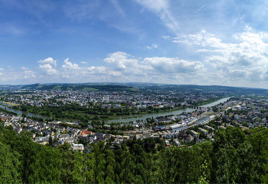 Berghotel Kockelsberg in Trier, Luftaufnahme