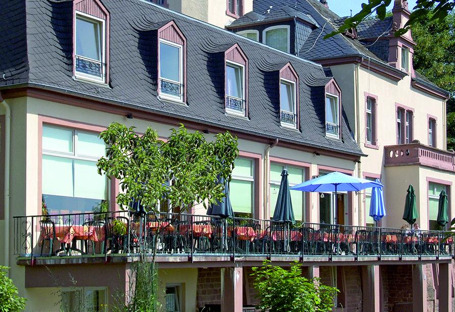 Berghotel Kockelsberg in Trier, Außenansicht