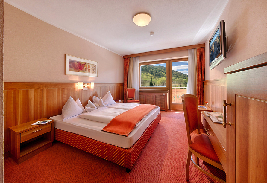 Hotel Gallhaus in St. Johann im Ahrntal, Zimmerbeispiel Alpenrose