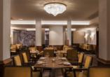 Radisson Blu Hotel Badischer Hof in Baden-Baden im Schwarzwald, Restaurant