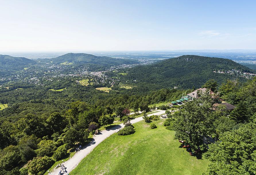Radisson Blu Hotel Badischer Hof in Baden-Baden im Schwarzwald, Merkur