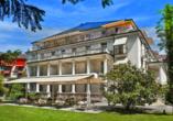 Radisson Blu Hotel Badischer Hof in Baden-Baden im Schwarzwald, Außenansicht