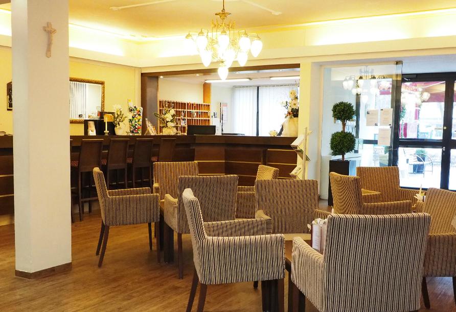 Kurhotel PANLAND in Bad Füssing im Bäderdreieck, Foyer