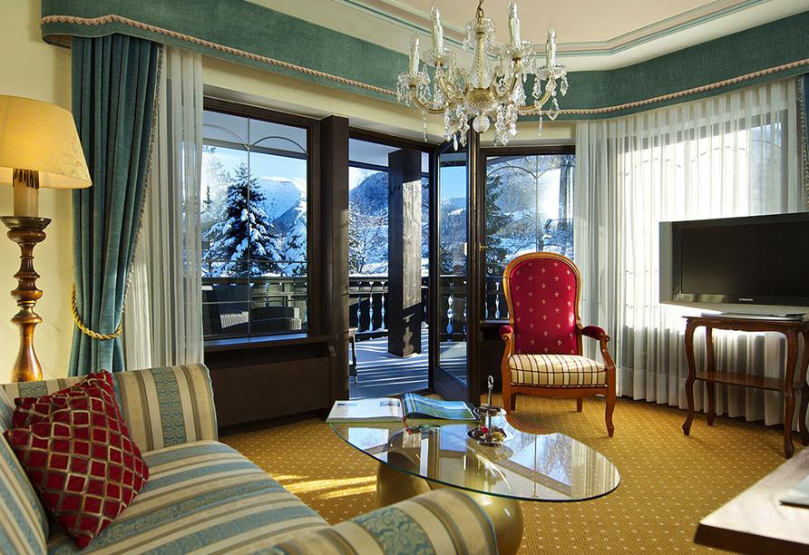 Golf & Alpin Wellness Resort Ludwig Royal Oberstaufen Allgäu, Beispiel Junior Suite