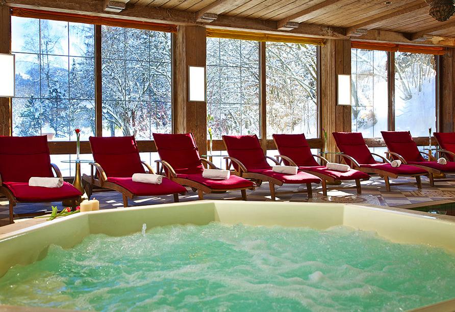 Golf & Alpin Wellness Resort Ludwig Royal Oberstaufen Allgäu, Whirlpool