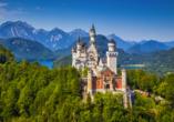 Golf & Alpin Wellness Resort Ludwig Royal Oberstaufen Allgäu, Schloss Neuschwanstein