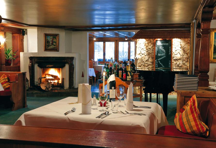Golf & Alpin Wellness Resort Ludwig Royal Oberstaufen Allgäu, Restaurant