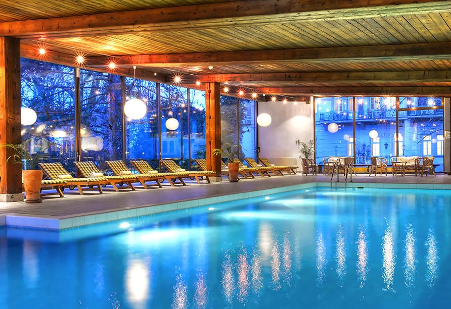 Wyndham Grand Hotel Bad Reichenhall Axelmannstein in Bad Reichenhall, Hallenbad