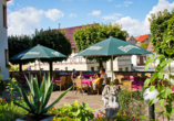 Hotel am Kellerberg in Trockenborn-Wolfersdorf Thüringen Saaletal, Terrasse