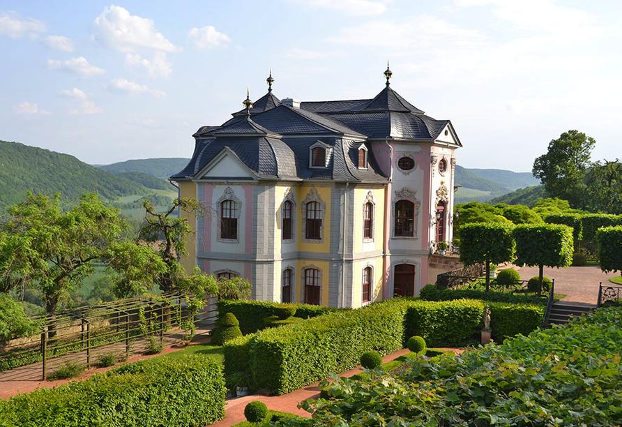 Hotel am Kellerberg in Trockenborn-Wolfersdorf Thüringen Saaletal, Dornburger Schloesser