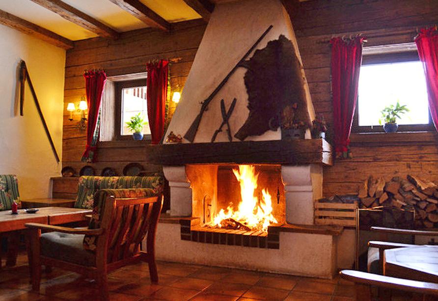 Hotel Aurach in Österreich Kaminzimmer