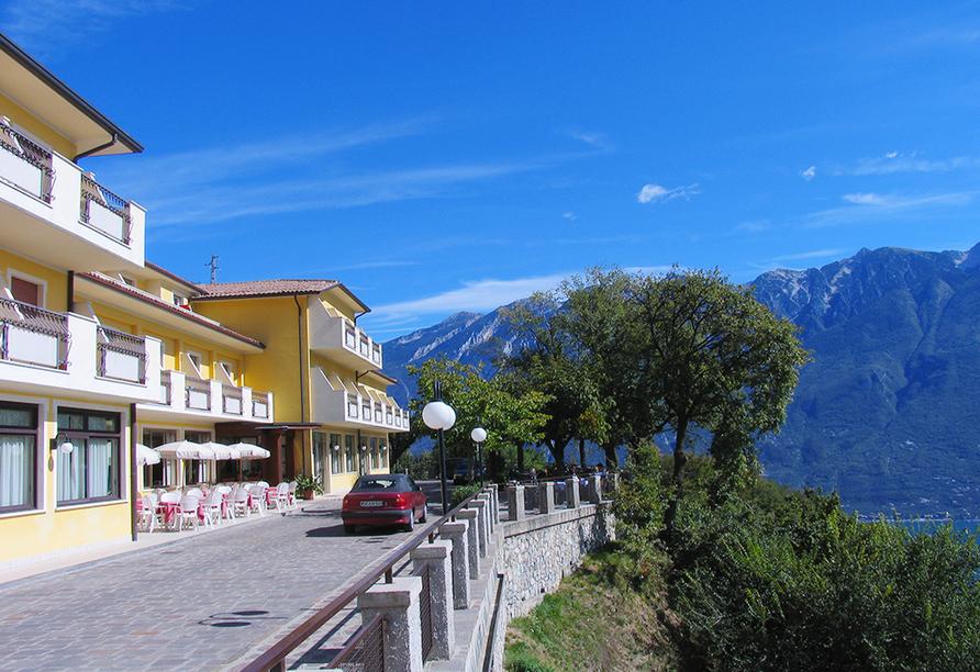 Hotel La Rotonda Gardasee, Außenansicht