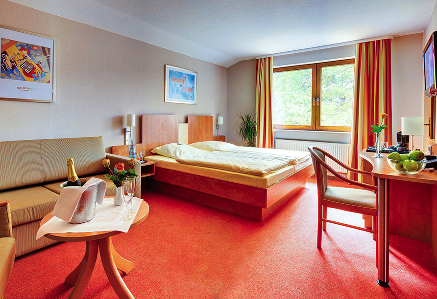 Heidehotel Bockelmann, Bispingen, Lüneburger Heide, Zimmer