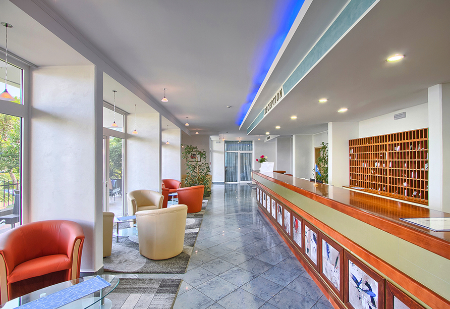 Hotel Mimosa in Rabac, Lobby