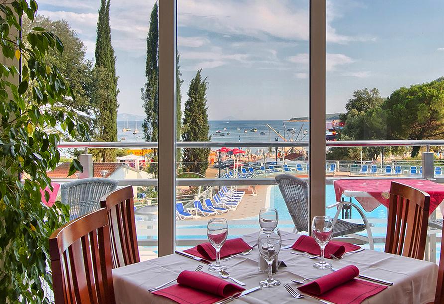Hotel Mimosa in Rabac, Restaurant