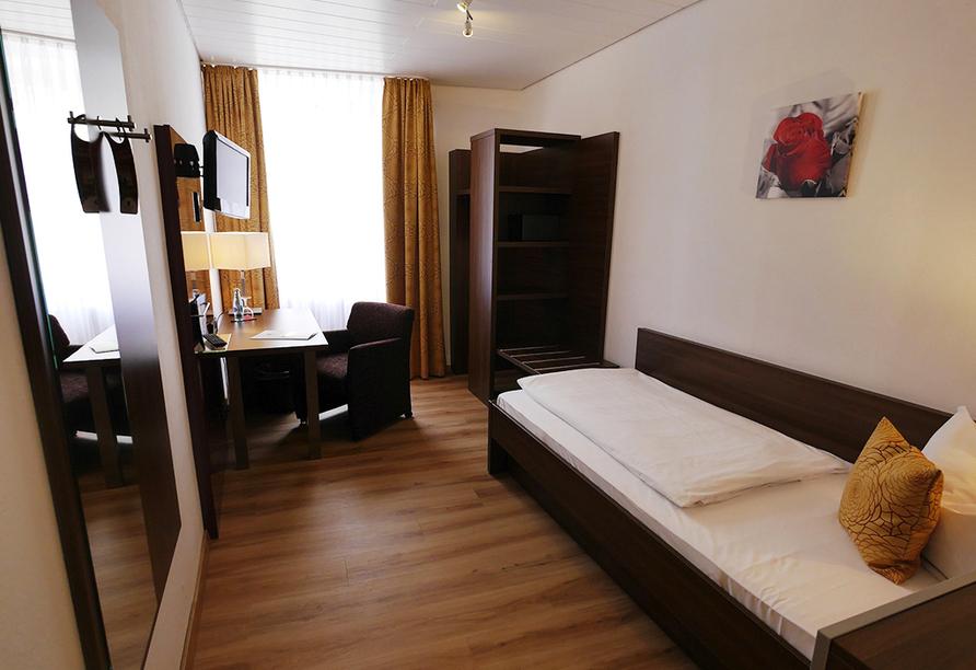 Romantica Hotel Blauer Hecht, Beispiel Einzelzimmer