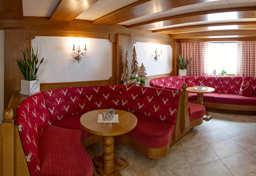 Hotel Edelweiss in Pfunds, Lobby