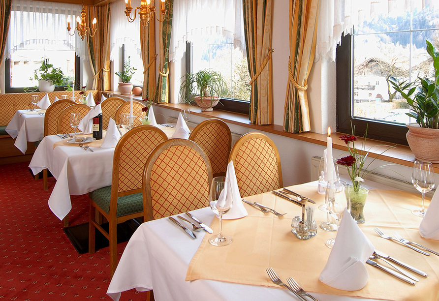 Hotel Edelweiss in Pfunds, Restaurant