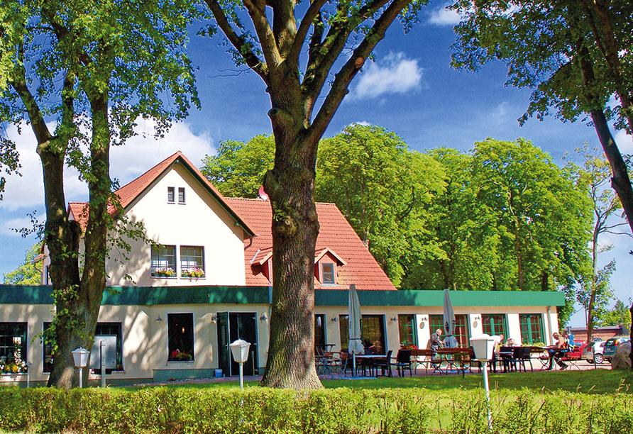Hotel Pension Zum Himmel in Rubenow an der Ostsee, Außenansicht