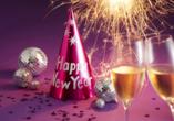 Hotel Pension Zum Himmel in Rubenow, Frohes neues Jahr