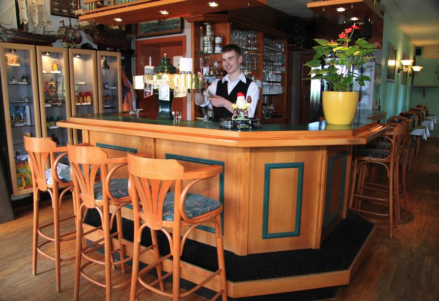 Hotel Pension Zum Himmel in Rubenow an der Ostsee, Restaurant