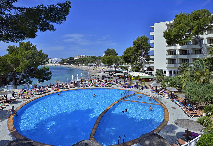Hotel Alua Miami Ibiza auf Ibiza in Es Canar, Poolanlage