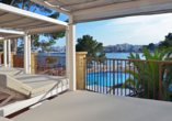 Hotel Alua Miami Ibiza auf Ibiza in Es Canar, Sonnenterrasse