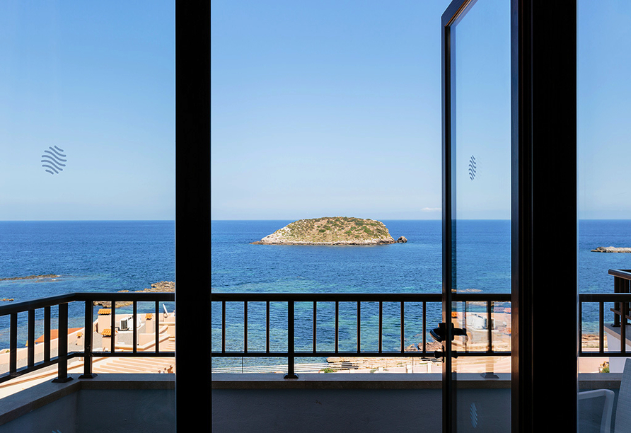 Hotel Alua Miami Ibiza auf Ibiza in Es Canar, Ausblick