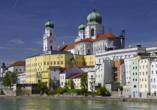 Predigtstuhl Resort in St. Englmar im Bayerischen Wald, Ausflugsziel Passau