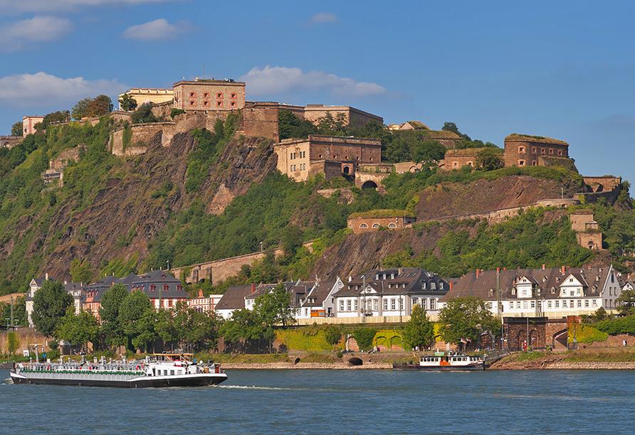 PRIMA Hotel Vita Balance, Koblenz Festung Ehrenbreitstein