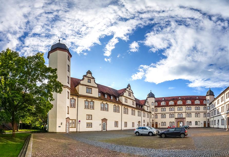 Posthotel Rotenburg in Rotenburg an der Fulda, Ausflugsziel Schloss