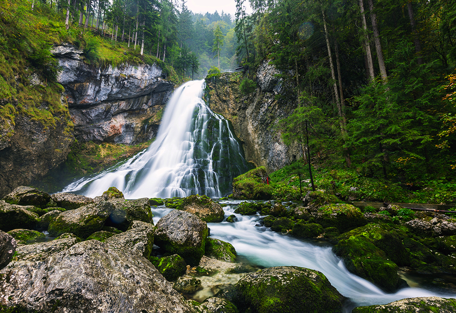 Genuss- und Vitalhotel Moisl in Abtenau, Gollinger Wasserfall